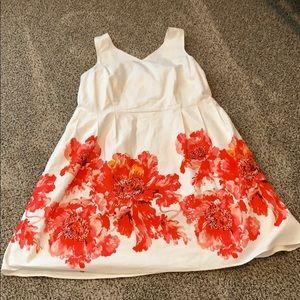 Floral Dress - Land's End